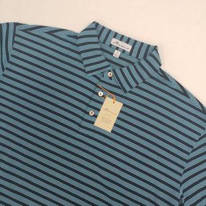 Peter Millar Crown Sport Summer Polo Shirt Size XL